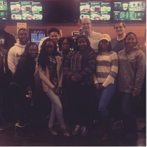 Before the start of the spring semester, some Grove Scholars took in the hit new film Hidden Figures.